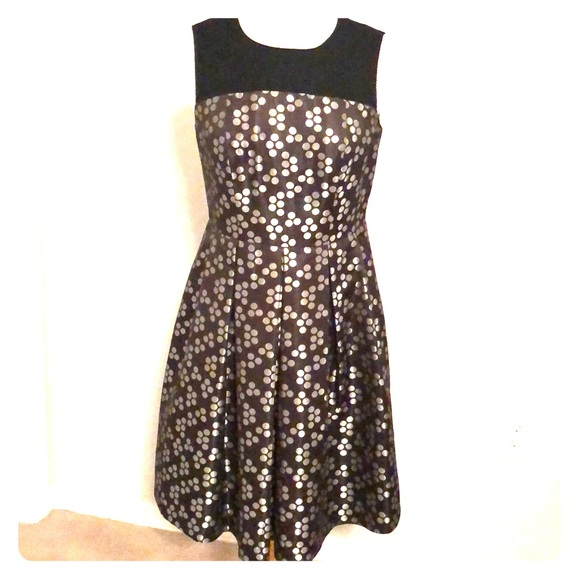 Nine West Dresses & Skirts - Nine West Sleeveless Polka Dot Fit & Flare Dress